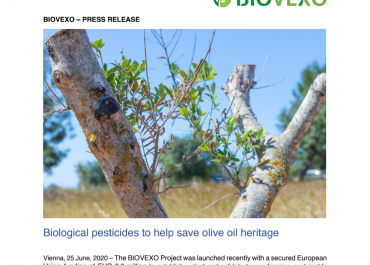 BIOVEXO Project Initial Press Release